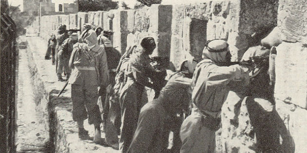 Tension in Palestine, Dec. 10, 1947