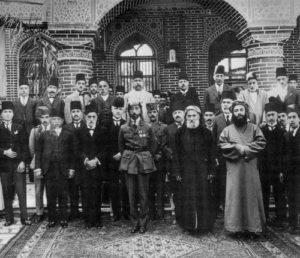 King Faisel visits Baghdad Jewish Community