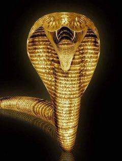 Golden Cobra, c. 630 BCE