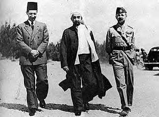 Abdullah and Glubb Pasha, Time Magazine, May 1948.