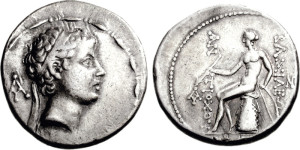 Antiochus V Eupator Tetradrachm