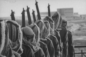 Arabs on Defense in Jerusalem