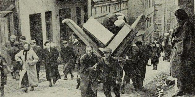 Jews Forced Behind Ghetto Walls – Bendzin Ghetto