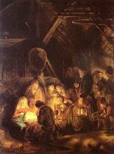 Rembrandt Birth of Jesus