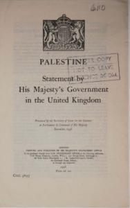 British Policy 1938