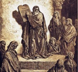Ezra and Nehemiah Reading the Torah