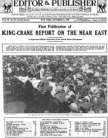 King_Crane_Report_First_Publication_1922