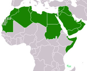 Map_of_League_of_Arab_States_countries