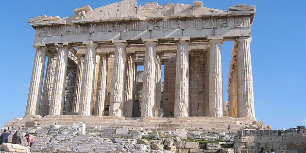 The Parthenon, Athenian Acropolis, 5th century BCE