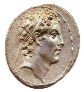Silver Tetradrachm of Antiochus IV Epiphanes