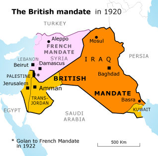 March 12, 1921 The Partition of the Palestine Mandate