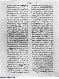 Nahmanides Commentary