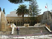 Church on site of original Church of Eleona