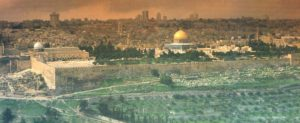 Where Solomon's Temple stood in Jerusalem