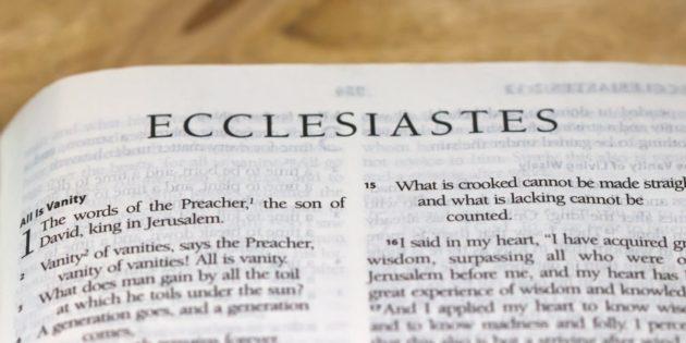 Ecclesiastes 1-12