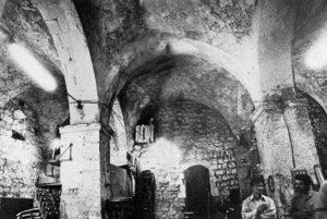A Smithy in a Crusader Church