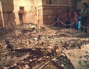 Jerusalem Model Rediscovered