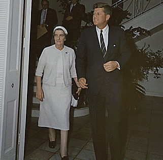 Golda Meir and John F. Kennedy, Dec. 27, 1962.