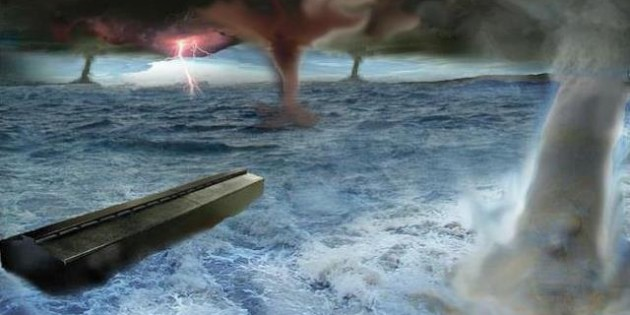 Noah's Ark, Noah's Flood, Uriel Vidal.