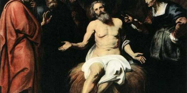 The Patient Job, Gerard Seghers (1591-1651).