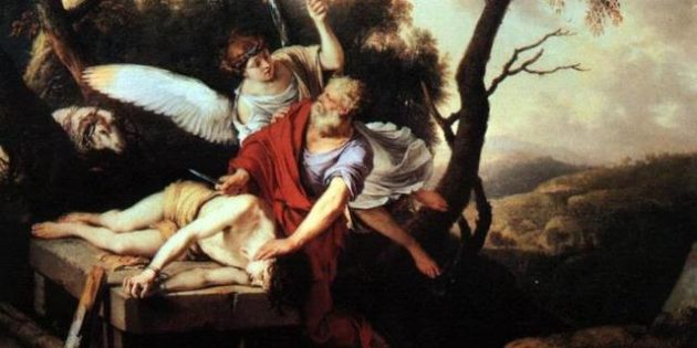 Sacrifice of Isaac, Laurent de La Hyre (1606-1656).
