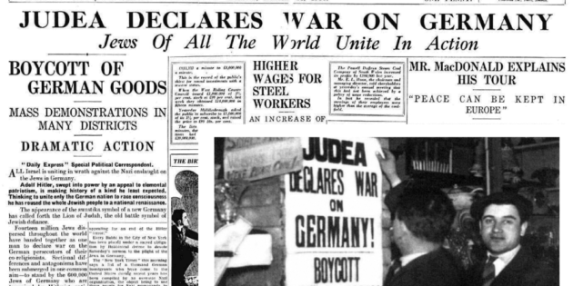 Nazis to Lift Boycott, International Herald Tribune, Apr. 1, 1933.