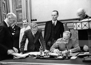 Neutrality Agreement concluded in April 1926