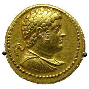 Octadrachm Ptolemy IV