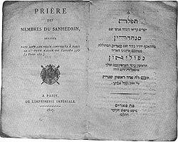 the Grand Sanhedrim, opened its sittings at Paris