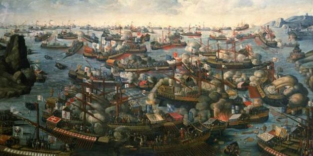 Battle of Lepanto, 1571