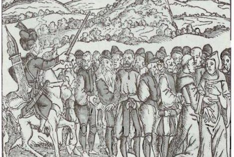 Pilgrims Arrested, 1556