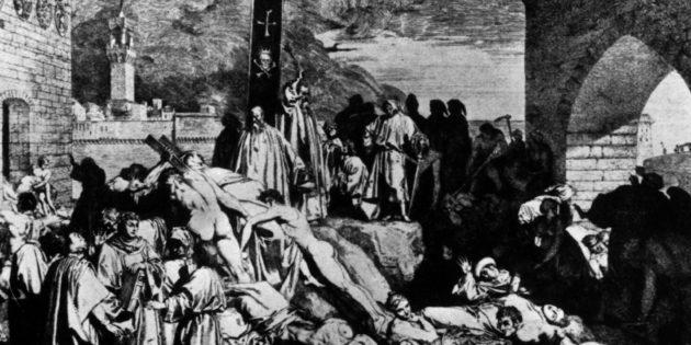 Black Plague, 1347-1351