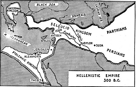 The Hellenistic Empire, 300 BCE
