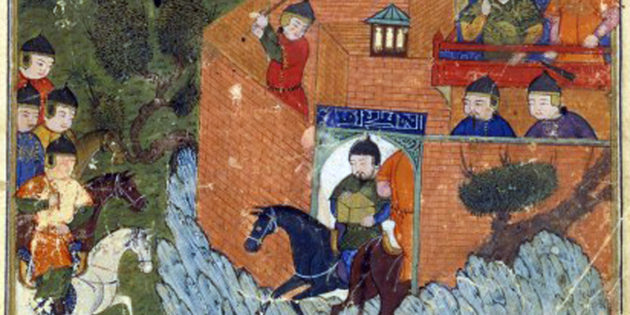 Hulegu Enters Jerusalem, 1260