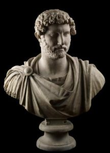 Marble Bust of Hadrian