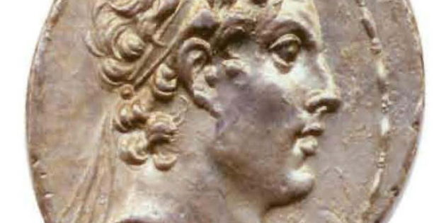 Silver Tetradrachm of Antiochus IV Epiphanes, 164 BCE