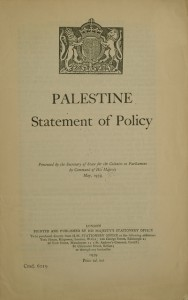 White Paper of 1939