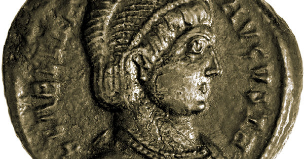 Coin of Helena, 324-5 CE
