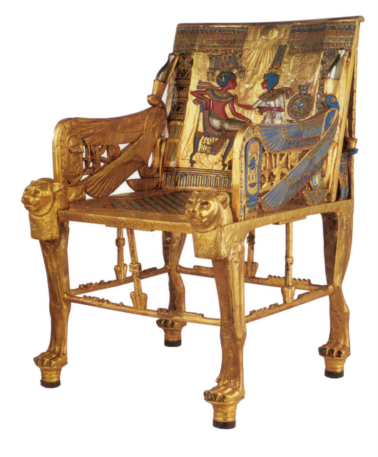 Tutankhamen's_Throne
