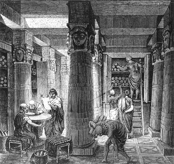 Alexandria_Library_Etching