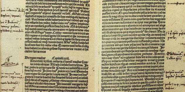 Christopher Columbus' Handwritten Notes, 15th century