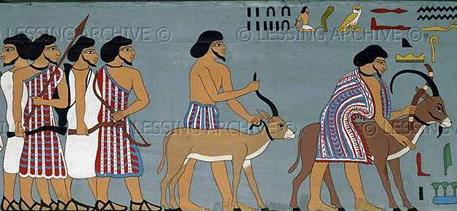 Semitic Tribe Entering Egypt