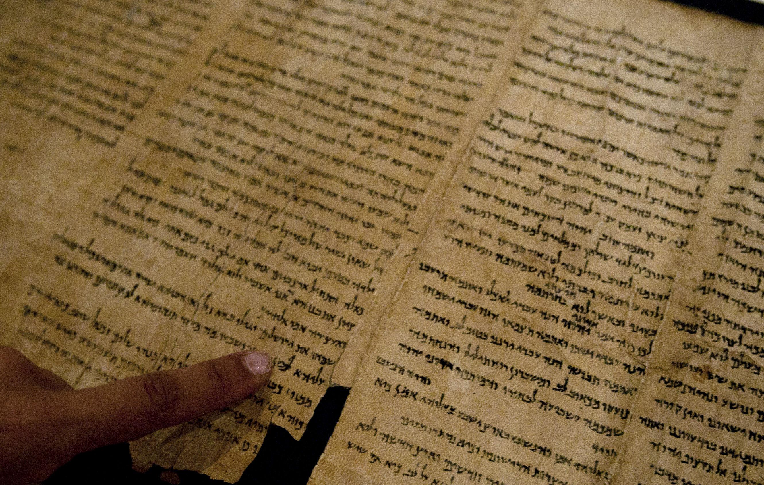 Mideast Israel Dead Sea Scrolls