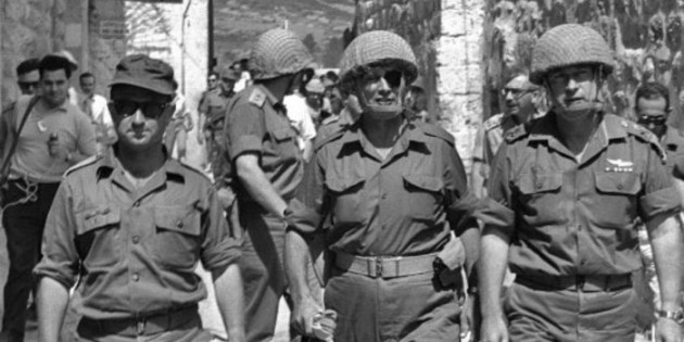 IDF Enters Jerusalem