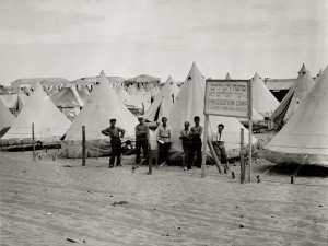 Immigration Camp Tel Aviv 1915