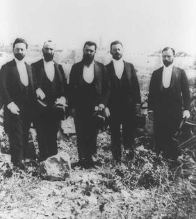 Zionist Delegation to Jerusalem, 1898