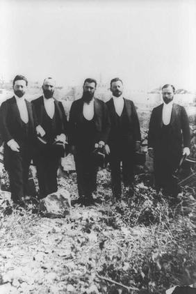 Zionist Delegation to Jerusalem