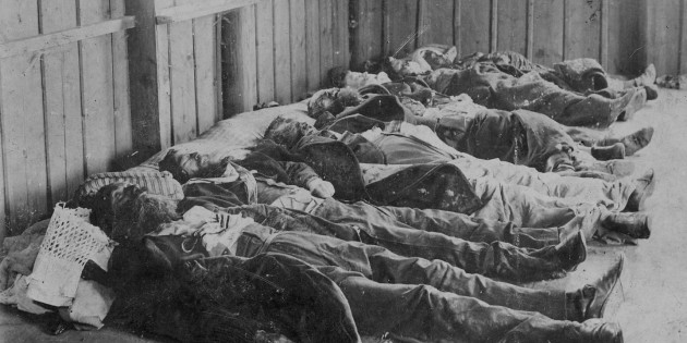 Victims of the Kischinev Pogrom, 1903