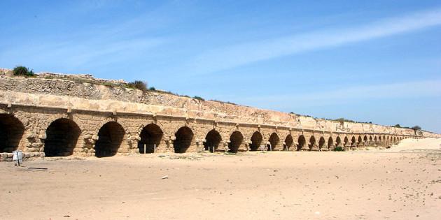 Roman Aqueduct Bringing Water to Caesarea Maritima