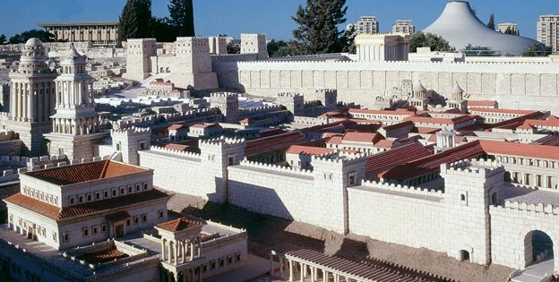 Model of Herodian Jerusalem, the Israel Museum